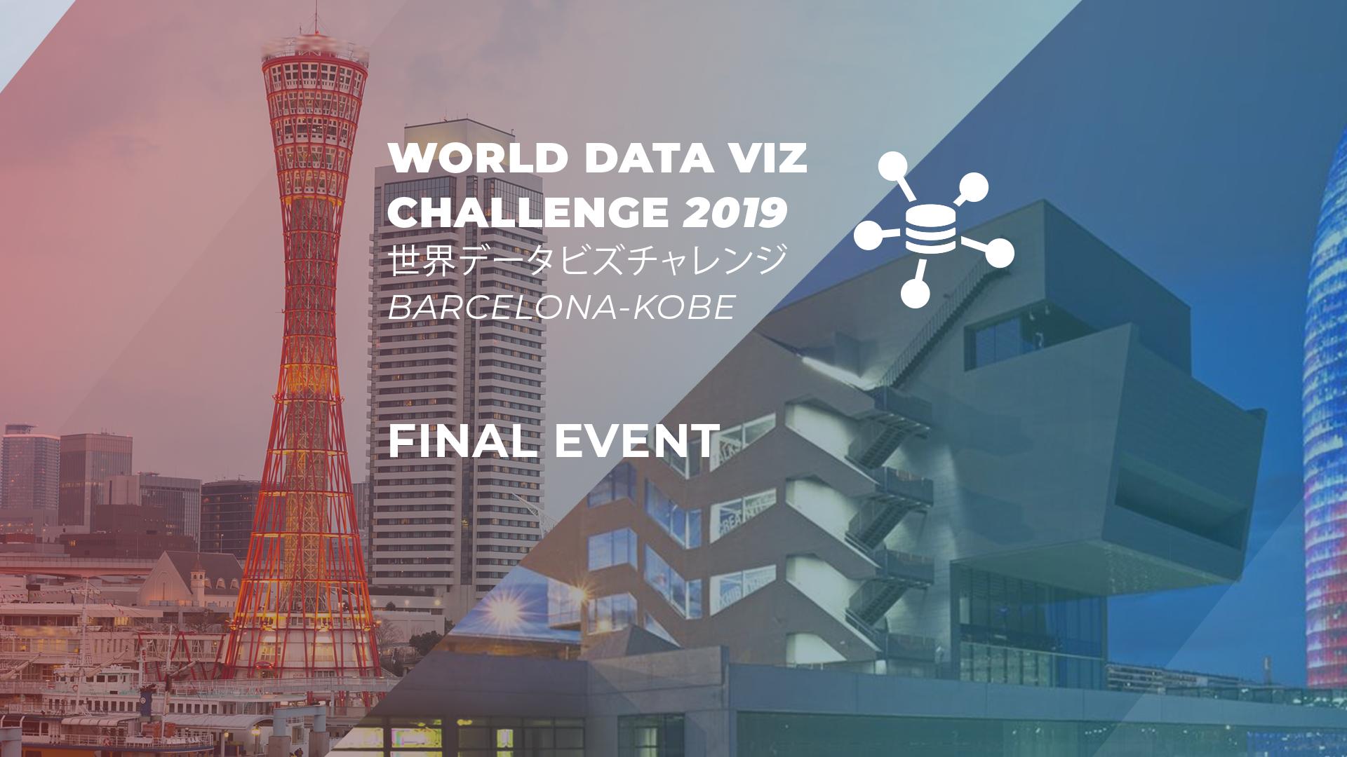 World Data Viz Challenge 2019 Barcelona-Kobe. Esdeveniment ...