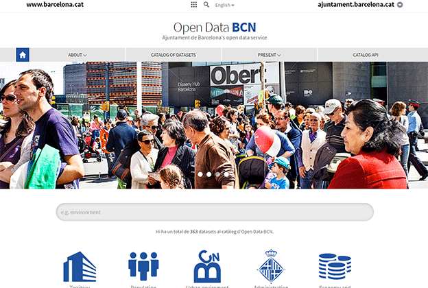 We inaugurate the new portal Open Data BC
